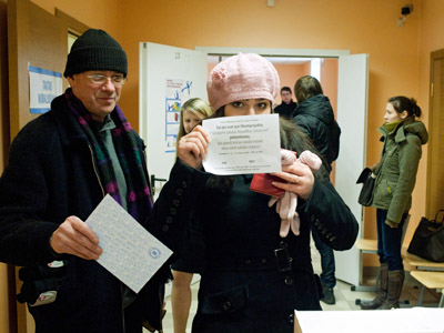 Latvian referendum 'a spit' at European Rights Court