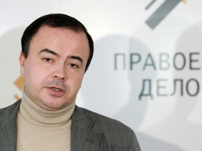 Acting Chairman of the Right Cause Andrey Dunaev (RIA Novosti / Anton Denisov)