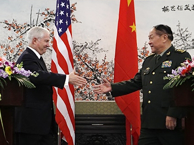 US and China Defense Chiefs meet in atmosphere of suspicion