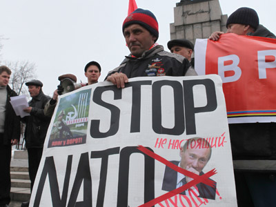 'Rumors about NATO base in Russia - a provocation'