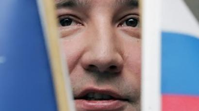 Dmitry Rogozin, Russia's ambassador to NATO (AFP Photo / Alexander Nemenov)