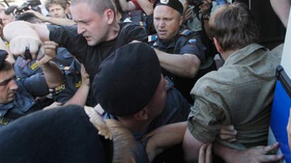 "Sergey Udaltsov staged several ""Day of Wrath"" unsanctioned rallies (RIA Novosti / Ilya Pitalev)"