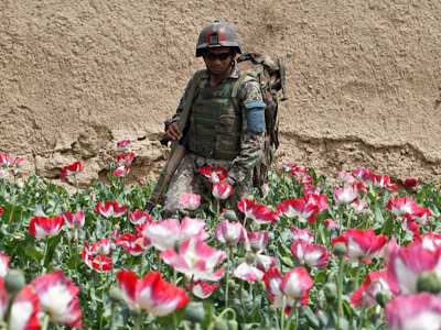 Russia, Afghanistan to boost cooperation on drug and terror fronts