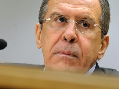 Russian Foreign Minister Sergey Lavrov (RIA Novosti / Alexey Filippov)