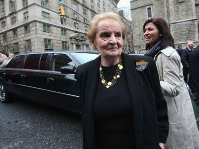 Former US Secretary of State Madeleine Albright. (Mario Tama / Getty Images / AFP)