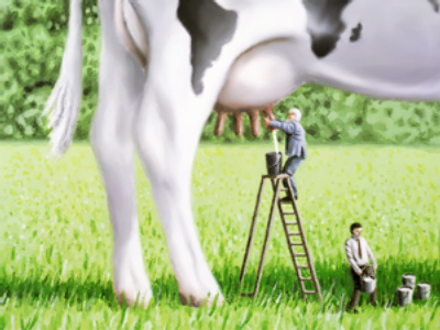 Russia-Belarus: who is milking who?