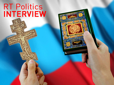 """People who contrast Christianity with Islam seek to divide Russia"""