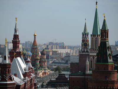 A view of Red Square and the Kremlin in the heart of Moscow. RIA Novosti / Alexey Filippov