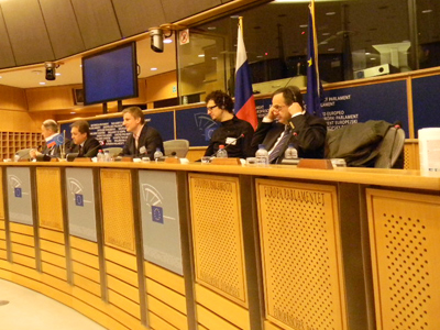 "The conference ""EU-Russia: Youth for Modernization"" in Brussels"