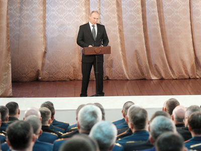 Putin warns US against rearming Georgia