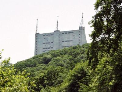 The Gabala radar station in Azerbaijan (AFP Photi / Michael Mainville)