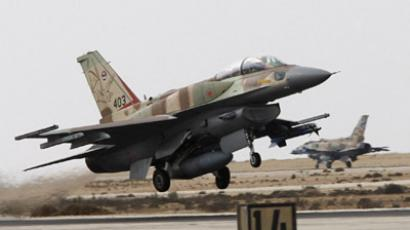 An Israeli F-16I fighter plane takes off from Ramon Air Base in southern Israel. (Reuters / Gil Cohen Magen)