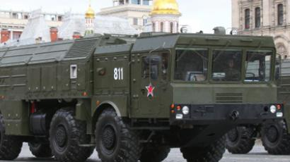 The Iskander missile system goes on parade in Moscow RIA Novosti / Ilya Pitalev