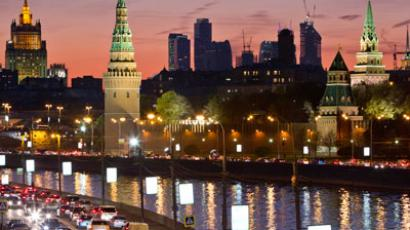 View of the Kremlin along the banks of the Moscow River Reuters / Anton Golubev