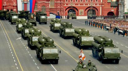 S-400 systems at the 2011 Victory Day parade in Moscow (RIA Novosti / Sergey Guneev)