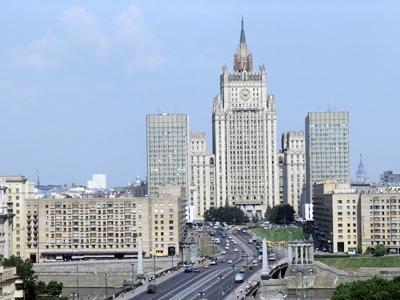 The building of the Ministry of Foreign Affairs (RIA Novosti / Ivan Denisenko)