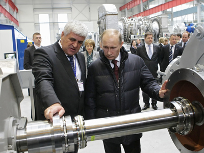 Putin's Technological Industrialization