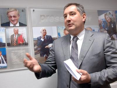Russian Ambassador to NATO Dmitry Rogozin (AFP Photo / Sergey Pyatakov)
