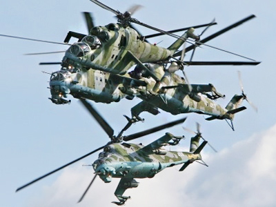 Russia's arms trader negotiates sales of helicopters to Afghanistan and Iraq