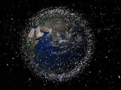 Battle Garbage Galactica: Russia set to hunt space debris