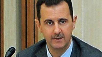 A handout picture released by the official Syrian Arab News Agency (SANA) shows President Bashar al-Assad (AFP Photo / HO / SANA)