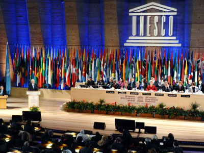 Unity urged over Palestinian UNESCO membership