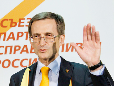 Fair Russia unhappy with new chairman