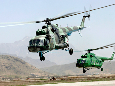 US gives thumbs up to Russian choppers for Afghan army