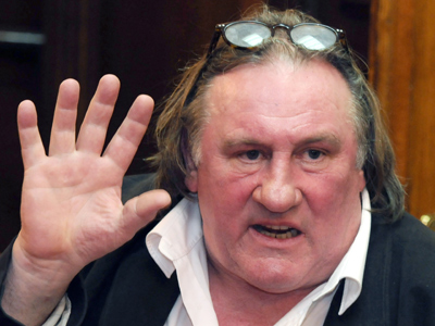 Gerard Depardieu (AFP Photo / Savo Prelevic)