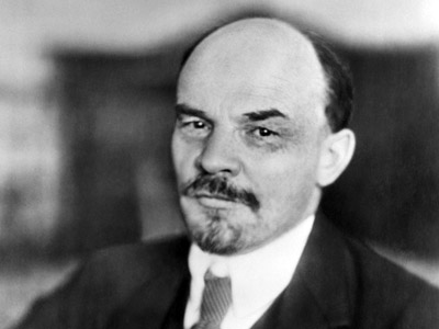 Vladimir Lenin (Ulyanov) (1870-1924), the leader of the Bolshevik revolution, the head of the Soviet government (1917-1924) (RIA Novosti)
