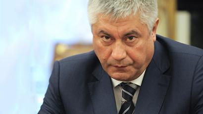 Interior Minister Vladimir Kolokoltsev. (RIA Novosti / Alexsey Druginyn)