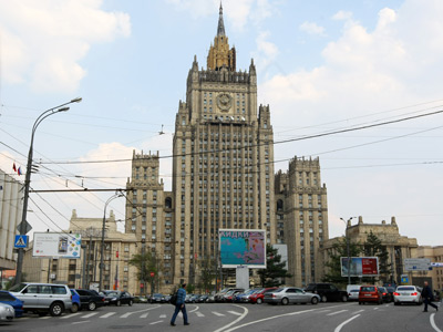 Building of the Ministry of Foreign Affairs, Moscow (RIA Novosti / Ruslan Krivobok)