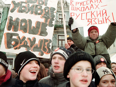 Activists want Russian language to have official status in Latvia