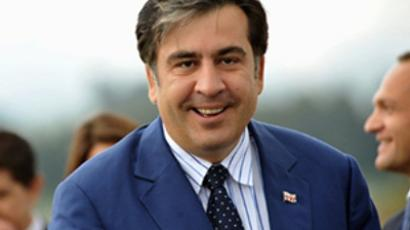 Georgia's President Mikhail Saakashvili (AFP Photo / Guillermo Legaria)