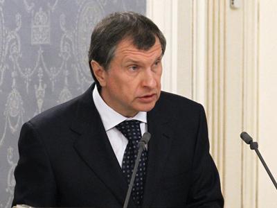 Russia's Deputy Prime Minister Igor Sechin (RIA Novosti / Mikhail Klimentyev)