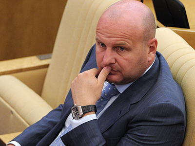 Aleksei Knyshov, a member of the Duma committee on land affairs and construction. (RIA Novosti / Vladimir Fedorenko)