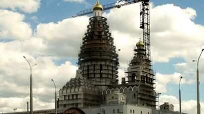 Moscow is lagging behind other Russian cities by the number of Orthodox churches per person