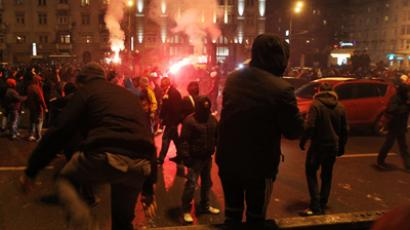 "Medvedev orders police to use ""all legal means"" to counter rioters"