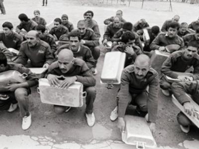Iranian POW captured during the Iraq-Iran war (AFP Photo)