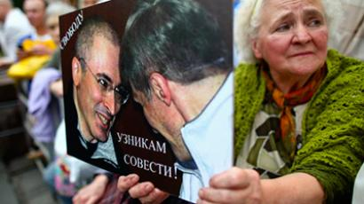 Khodorkovsky's jailed partner denied early release