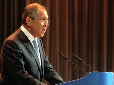 Sergey Lavrov (RIA Novosti / STF)