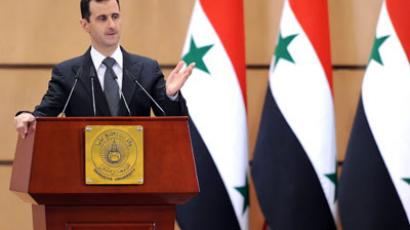 Syria's President Bashar al-Assad.(AFP Photo / Sana)