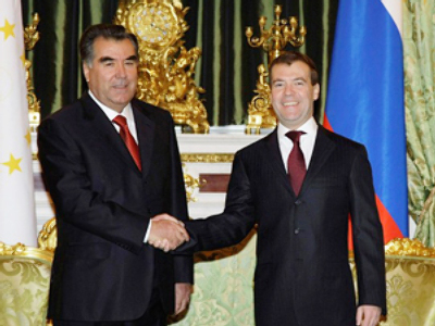 Tajikistan and Russia: partnership for stability in Central Asia