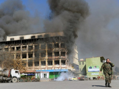 Taliban attack triggers Afghan security overview