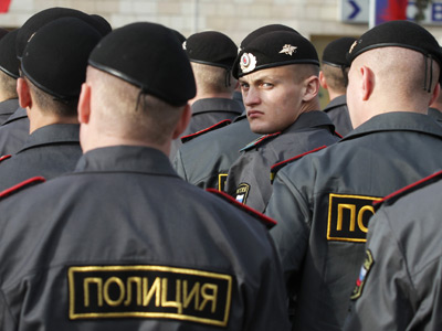 Moscow police detain Islamic terror suspects