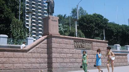 Tiraspol, the capital of the unrecognized Republic of Transdniester