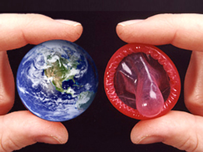 In condoms we trust: can contraceptives cool the planet?