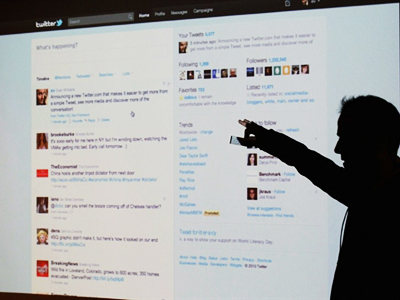 Twitter turns into an instrument for political battle