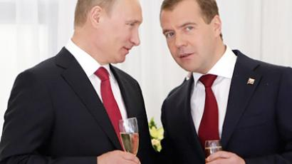 Medvedev ready to head political party in future