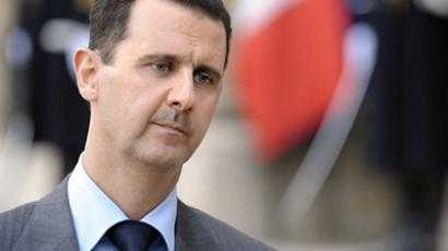 Syrian President Bashar al-Assad. (AFP Photo /  Bertrand Guay)